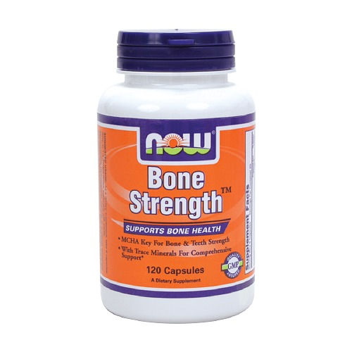 Bone Strength ( Força para os Ossos ) 120 Cápsulas - NOW Foods