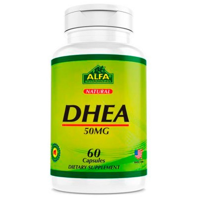 DHEA 50mg (60 caps) - Alfa Vitamins