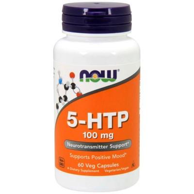 5-HTP 100mg 60 cápsulas - Now Foods