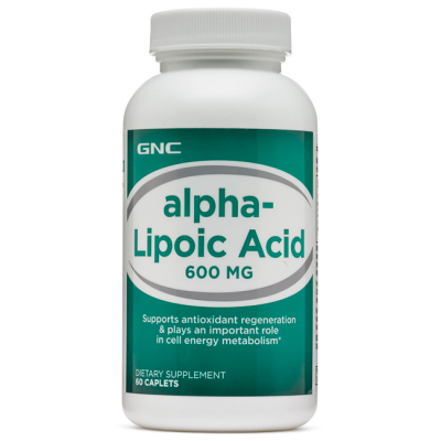 Ácido Alpha-Lipóico 600mg (60 caps) - GNC
