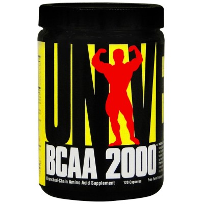 Bcaa 2000 120 Cápsulas - Universal Nutrition