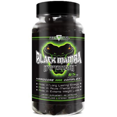 Black Mamba Hyperrush 90 Cápsulas - Innovative Labs