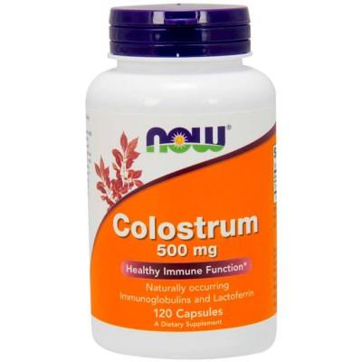 Colostrum 500mg (120 cápsulas) - Now Foods