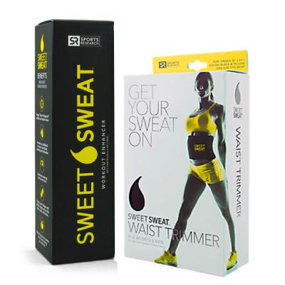 Combo: Sweet Sweat Bastão + Cinta Modeladora - Sports Research