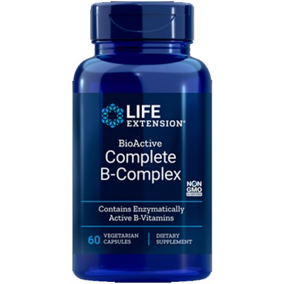 Complete B Complex (60 caps) - Life Extension