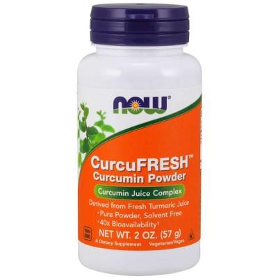 CurcuFresh Powder (57g) - Now Foods