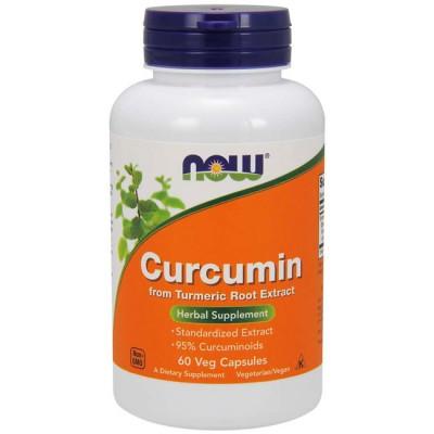 Curcumin (60 cápsulas) - Now Foods