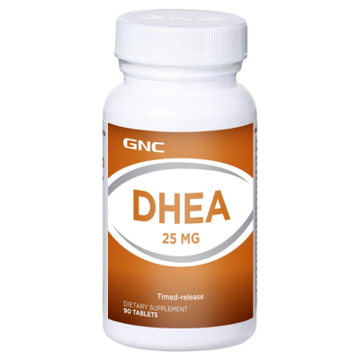 DHEA 25mg (90 caps) - GNC