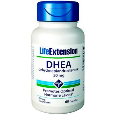 DHEA 50mg - 60Caps - Life Extension