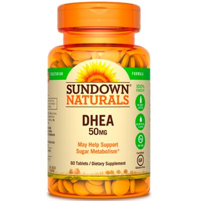DHEA 50mg (60 tabs) - Sundown Naturals