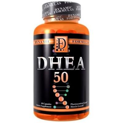 DHEA 50mg (90 caps) - Dynamic Formulas