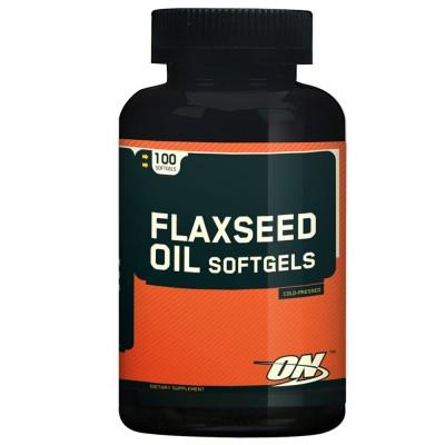 Flaxseed Ômega 100 Cápsulas - Optimum