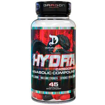 Hydra - 45 Cápsulas - Dragon Pharma