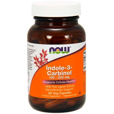 Indole -3 Carbinol 200mg (60 cápsulas) - Now Foods