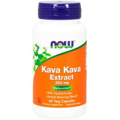 Kava Kava Extract 250mg (60 cápsulas) - Now Foods