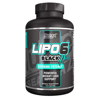 Lipo 6 Black Hers 120 - Nutrex