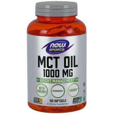 MCT Oil (150 softgels) - Now Foods