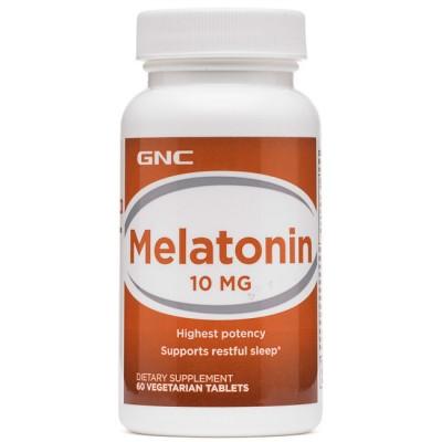 Melatonina 10mg (60 caps) - GNC