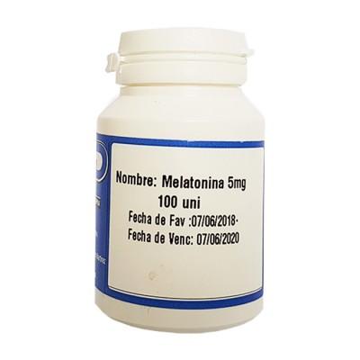 Melatonina 5mg (100 tabs) - Emporio Pharma