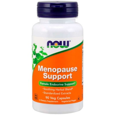 Menopause Support (90 cápsulas) - Now Foods