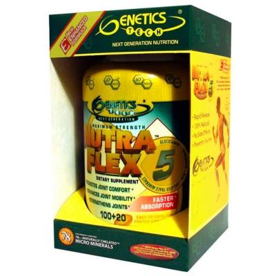 Nutra Flex 5 120 cápsulas - Genetics Tech