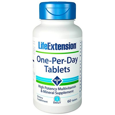 One-Per-Day (60 tabletes) - Life Extension