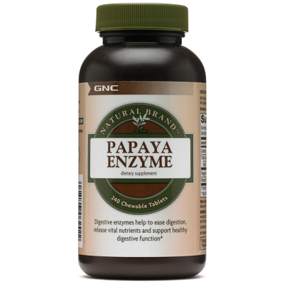 Papaya Enzyme (240 tabs) - GNC