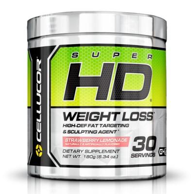 Super HD Powder 180g (30 porções) - Cellucor Strawberry Lemonade