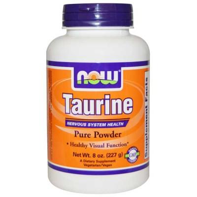 Taurine Powder - 227g - Now Sports