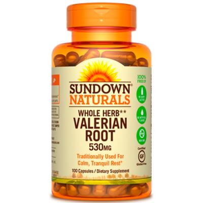 Valerian root (530mg) 100 caps - Sundown Naturals