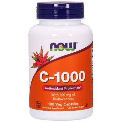 Vitamina C-1000 (250 cápsulas) - Now Foods