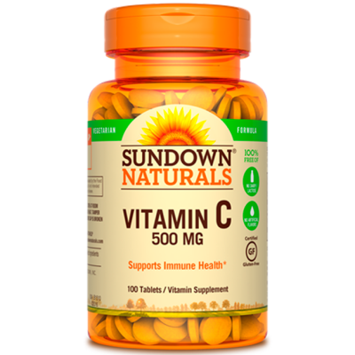 Vitamina C 500mg (100 tabs) - Sundown Naturals