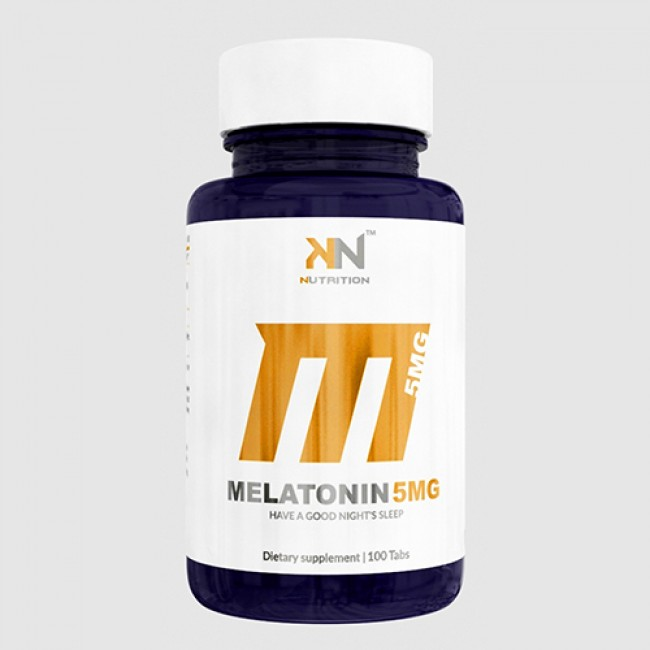 Melatonina 5mg - 100 Tabs - KN Nutrition bbb49f6bdb0
