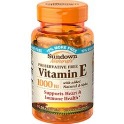 Vitamina E 1000 IU-Sundown Naturals