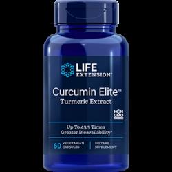Curcumin Elite™ Turmeric Extract, 60 vegetarian capsules