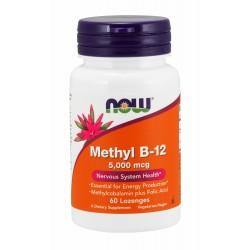 Methyl B-12 5,000 mcg - 60 Lozenges