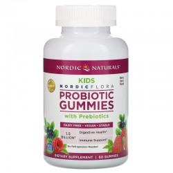 Probiotic Gummies Kids (60 Gomas) - Nordic Naturals