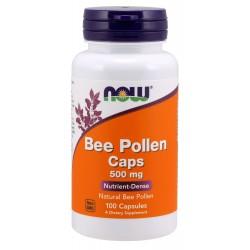 Bee Pollen 500 mg - 100 Capsules