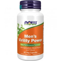 Men's Virility Power 60vcaps NOW Foods