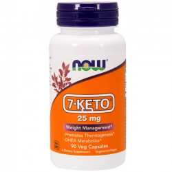7-Keto 25mg (90 caps) - Now Foods