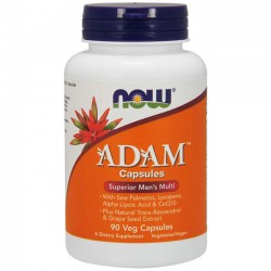 ADAM Multivitamínico (90 cápsulas) - Now Foods