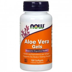 Aloe Vera 10.000 (100 softgels) - Now Foods