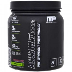 Assault Black Label - 30 doses - MusclePharm