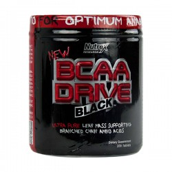 BCAA Drive Black 1000mg-Nutrex-200-Tabletes