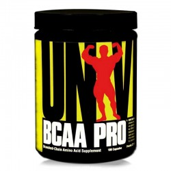 BCAA Pro - 100Caps - Universal Nutrition
