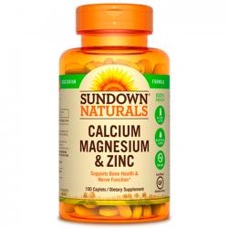 Calcium, Magnesium & zinco (100 caps) - Sundown Naturals