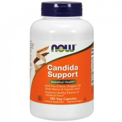 Candida Support (180 cápsulas) - Now Foods
