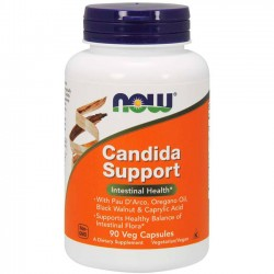 Candida Support (90 cápsulas) - Now Foods
