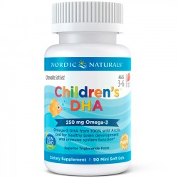 Children's DHA (90 softgels) - Nordic Naturals