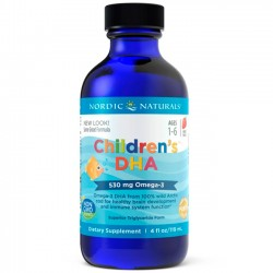 Children's DHA Líquido 4 fl.oz (119ml) - Nordic Naturals
